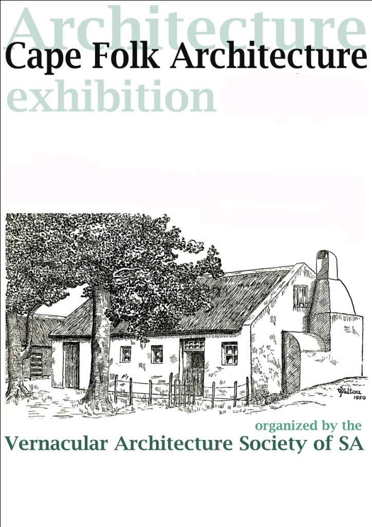 Cape Folk Architecture Exhibition – Souvenir Brochure