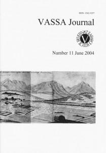 VASSA Journal 11 Cover