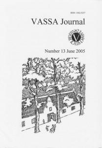 VASSA Journal 13 Cover