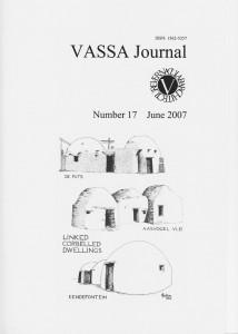 VASSA Journal 17 Cover
