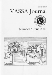 VASSA Journal 5
