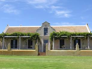 Groot Phezantekraal farmhouse