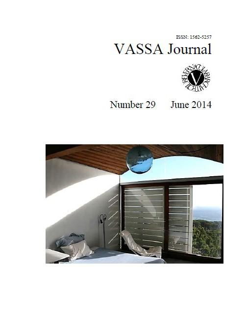 VASSA Journal Vol. 29