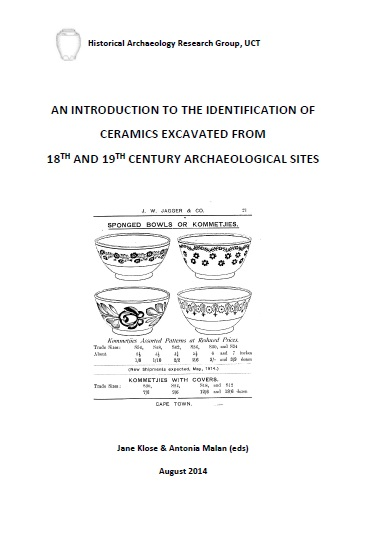An Introduction To The Identification Of Ceramics