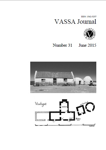 VASSA Journal 31 Cover