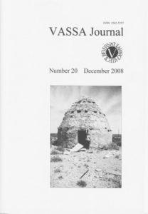 VASSA Journal 20 Cover