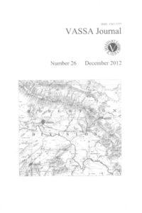 VASSA Journal Vol. 26