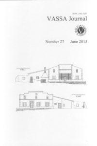 VASSA Journal Vol. 27