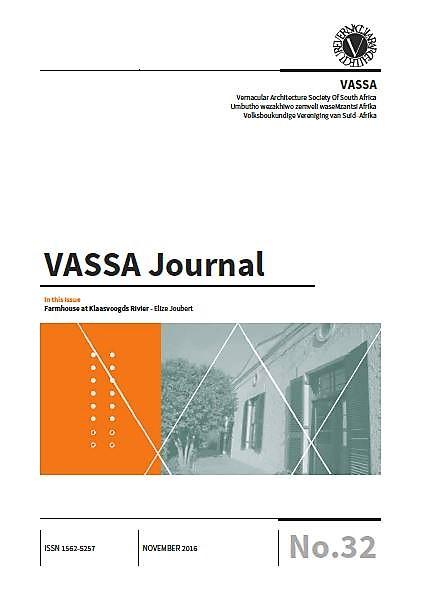 VASSA Journal Vol. 32