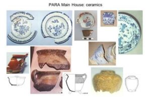Paradise, Newlands, ceramics