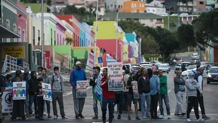 Bo-Kaap civic protest