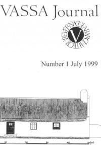 VASSSA Journal 1