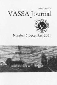 VASSA Journal 6
