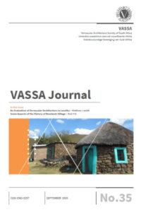 VASSA Journal 35 Cover