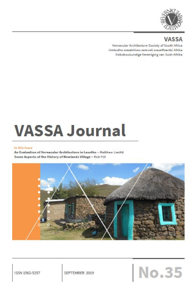 VASSA Journal 35 Cover