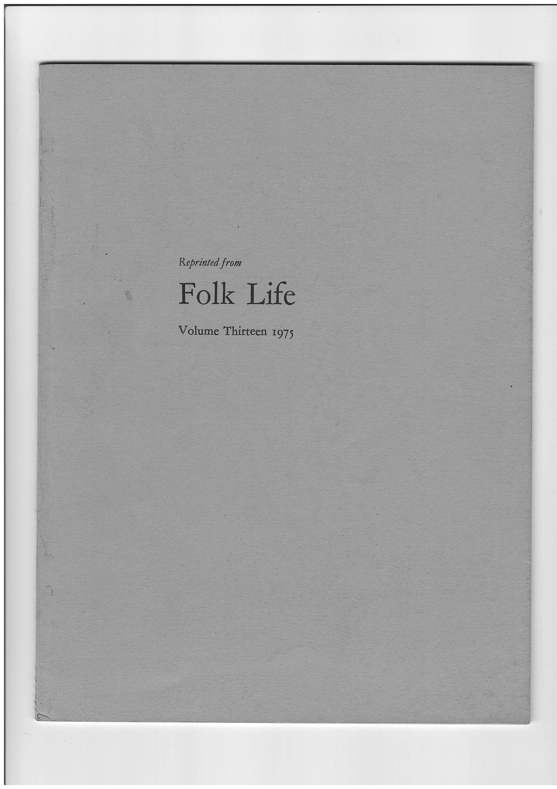 Folk Life